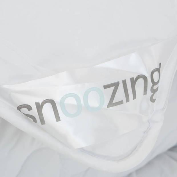 Snoozing Swiss Dreams - Synthetisch - Dekbed - Eenpersoons - 140x200 cm - Wit