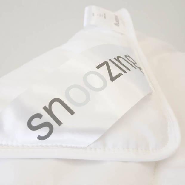 Snoozing Kreta - Katoen - Zomerdekbed - Eenpersoons - 140x200 cm - Wit