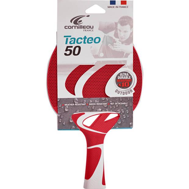 Tafeltennis bat cornilleau tacteo 50 rood