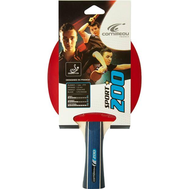 Tafeltennis bat cornilleau sport 200 rood