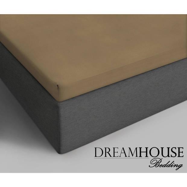 Dreamhouse Bedding HSL DHB Topper Katoen Taupe 140x200