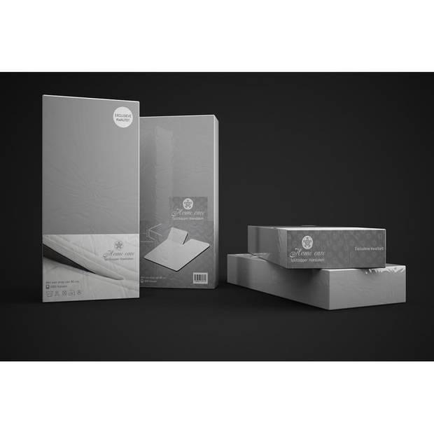 Sleeptime HSL HC Splittopper Katoen Grey 180x210