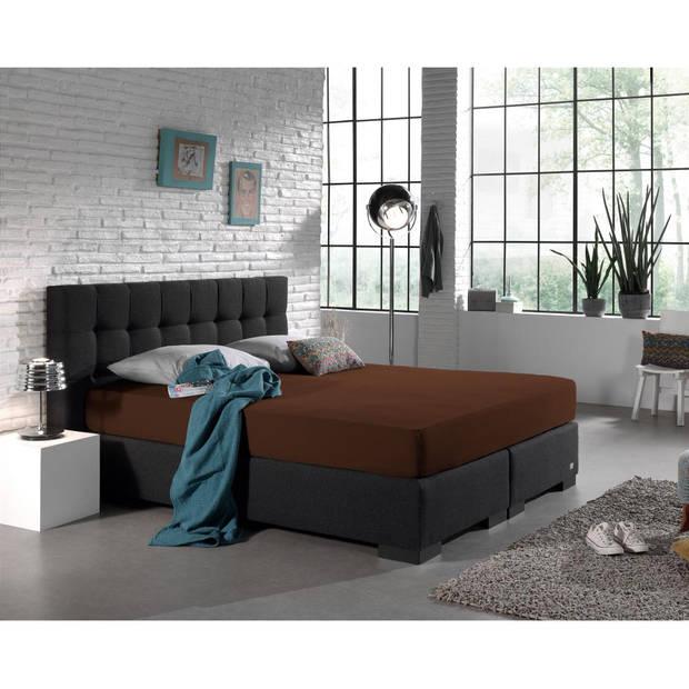 Dreamhouse Bedding HSL HC Jersey 220 gr. Brown 140x200/220
