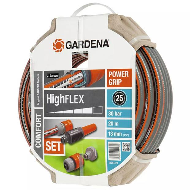 GARDENA Tuinslang set Comfort HighFLEX 6-delige 20 m 18064-20