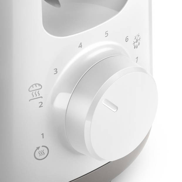 Philips broodrooster - HD2590/00 - wit