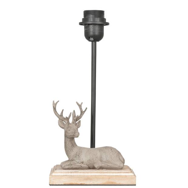 Clayre & eef lampenvoet 16x13x35 cm e27 max 60w
