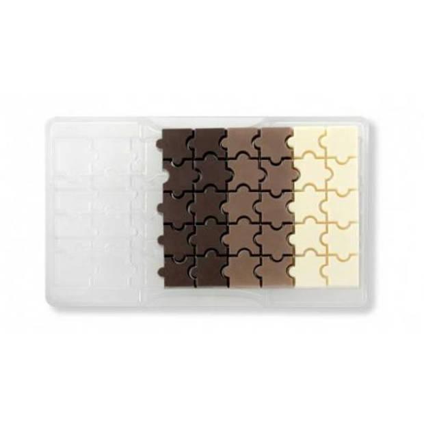 Chocolade mal puzzel - Decora