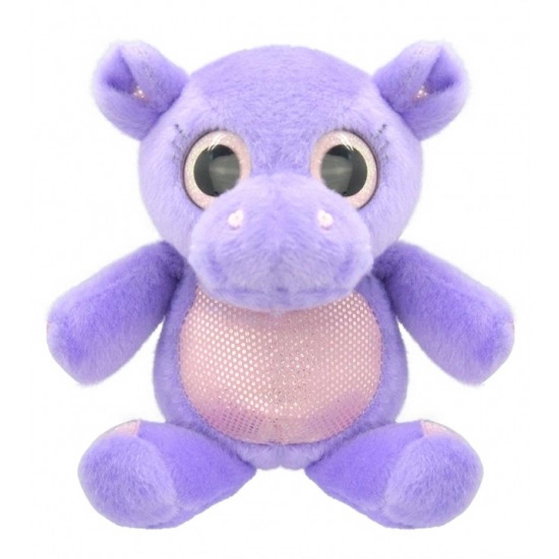 Pluche nijlpaard knuffel 18 cm