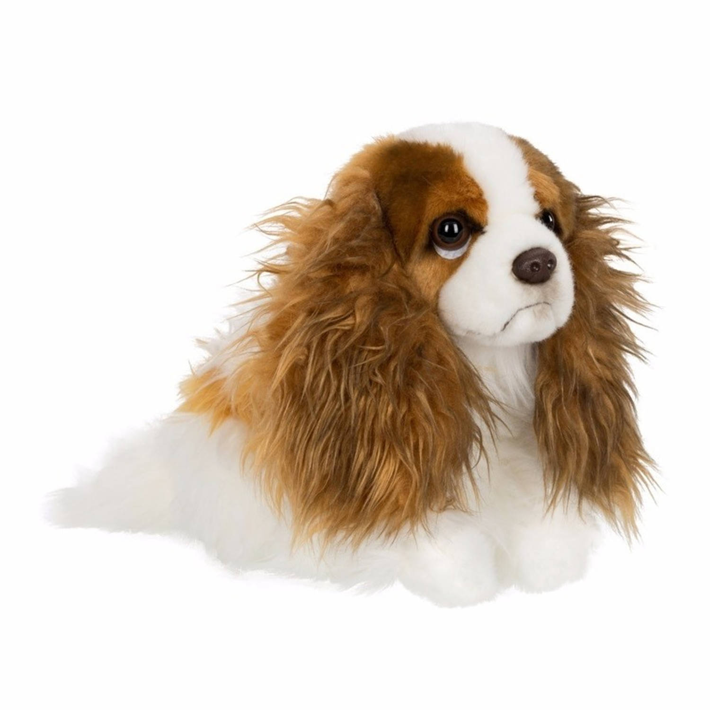Afbeelding van Anna Club pluche King Charles Spaniel hond knuffel 26 cm