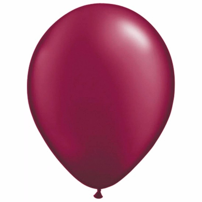 Korting Donkerrode Ballonnen 25 Stuks Ballonnen