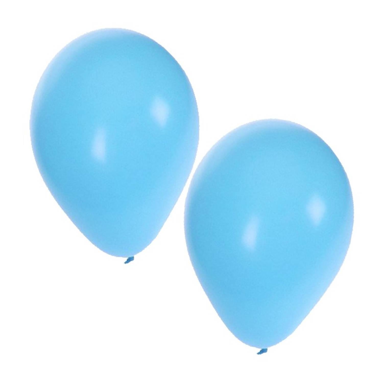 Korting 25 Lichtblauwe Ballonnen Ballonnen