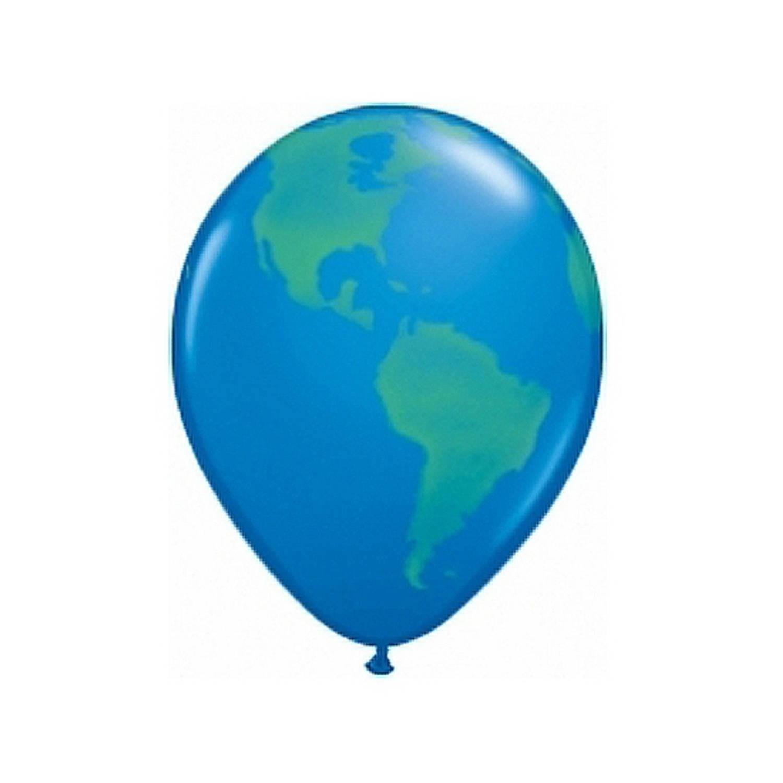 Korting Ballon Wereldbol 40 Cm