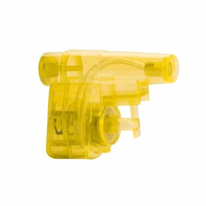 Korting Mini Geel Waterpistool Waterpistooltje 5 Cm Waterspeelgoed Voor Kinderen Waterpret