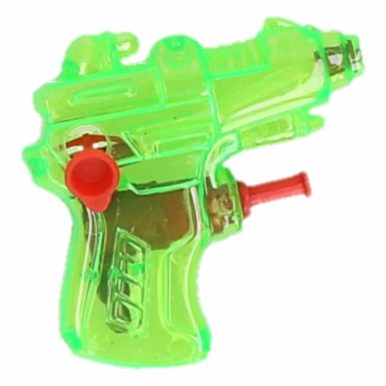 Korting Mini Waterpistool Groen 7 Cm