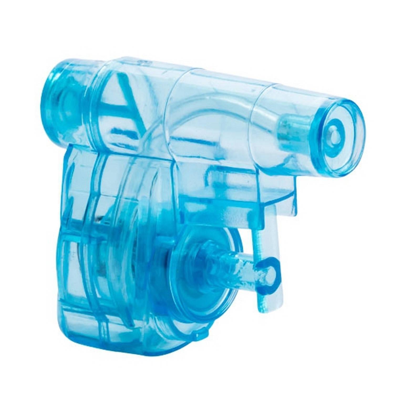 Korting Mini Blauw Waterpistool 5 Cm
