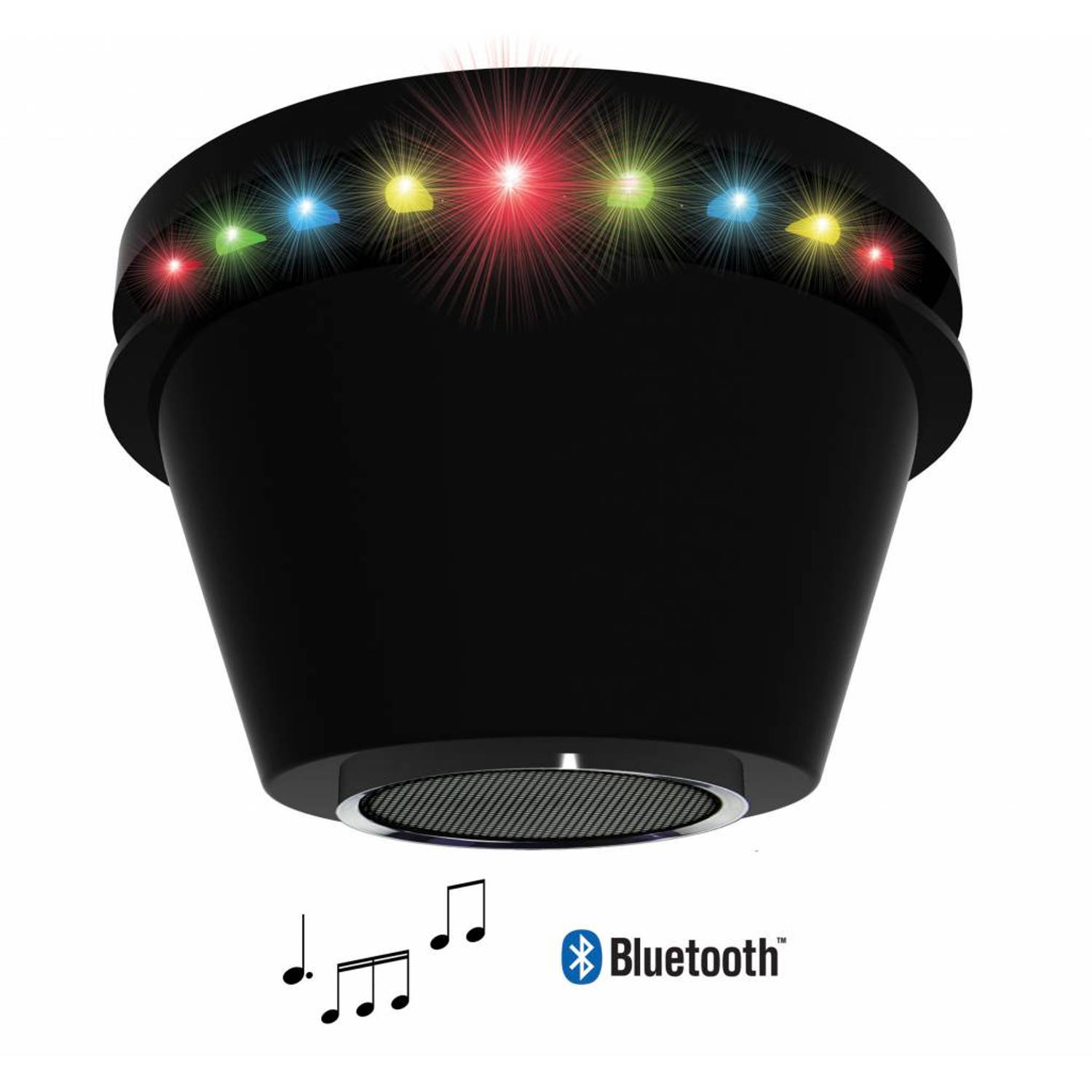 PartyFunLights LED discolamp met bluetooth speaker