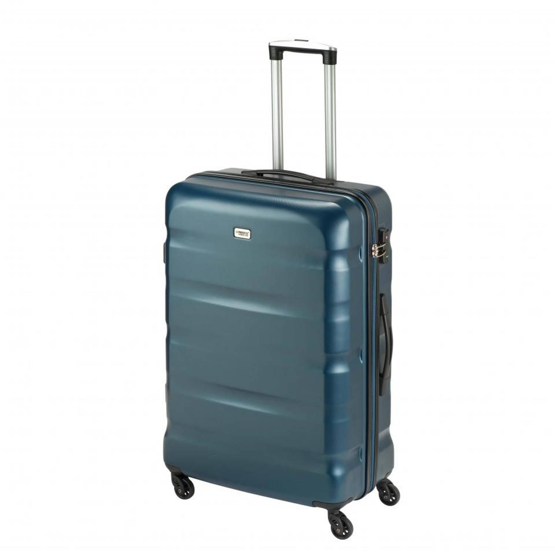 Korting Princess Traveller Los Angeles ABS koffer L donkerblauw
