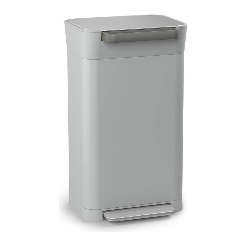Joseph Joseph Intelligent Waste Titan Pebble pedaalemmer - 30 liter
