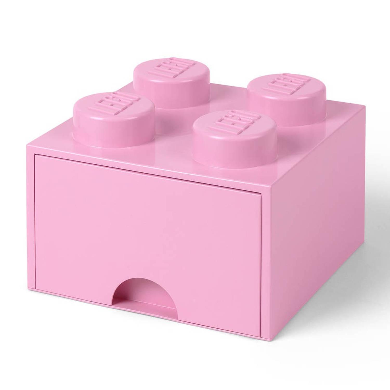 LEGO Brick 4 opberglade - light purple