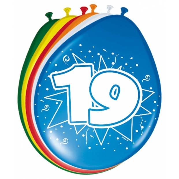 Ballonnen 19 jaar