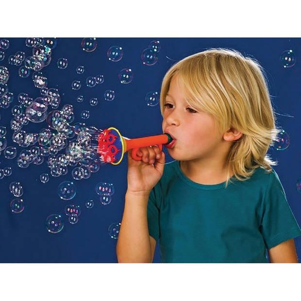 Multi bubbel Trompet bellenblaas