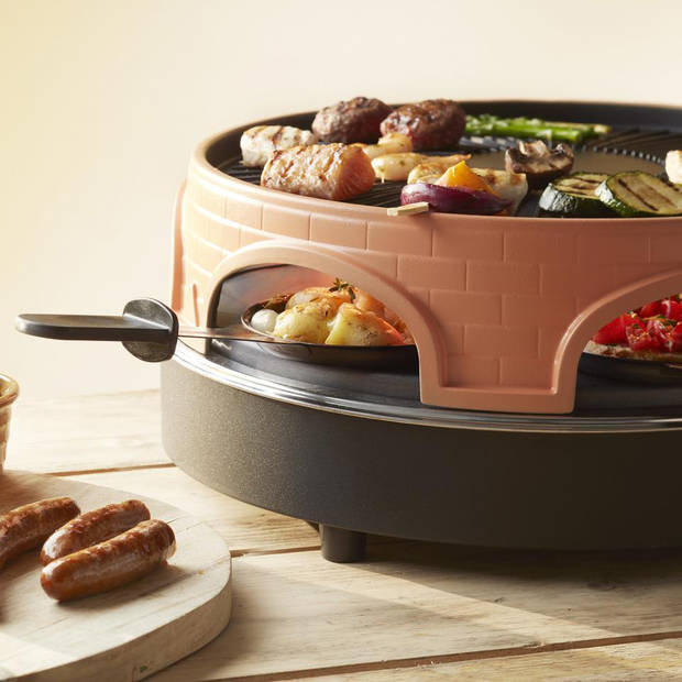 Emerio Pizzarette grill 3-in-1 PO-113255.4 - 6 personen
