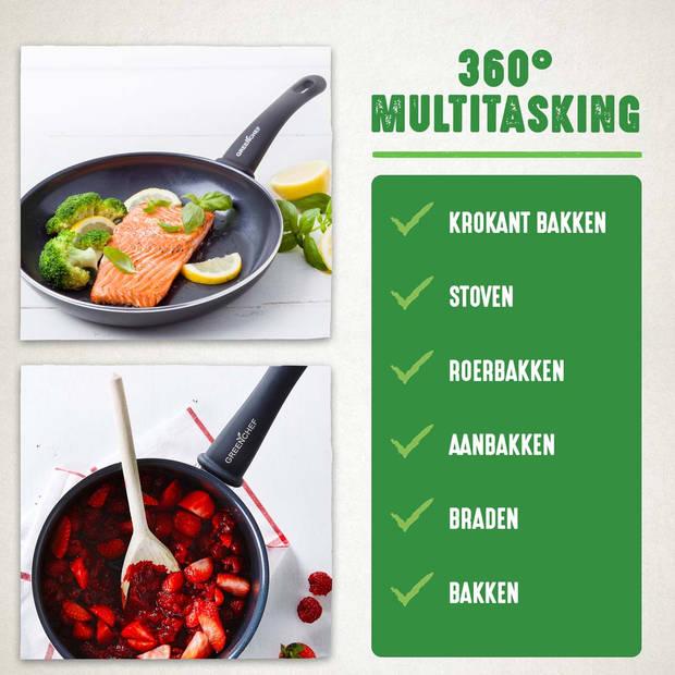 GreenChef Soft Grip wokpan - 28 cm
