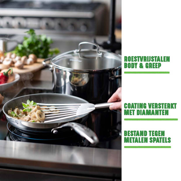 GreenChef Profile Plus keramische wokpan - Ø 28 cm