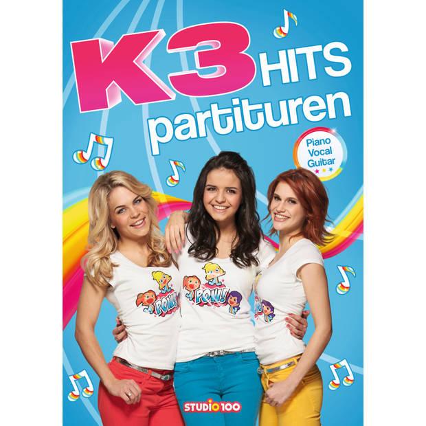 Boek K3 - partiturenboek - Boek Studio 100 K3