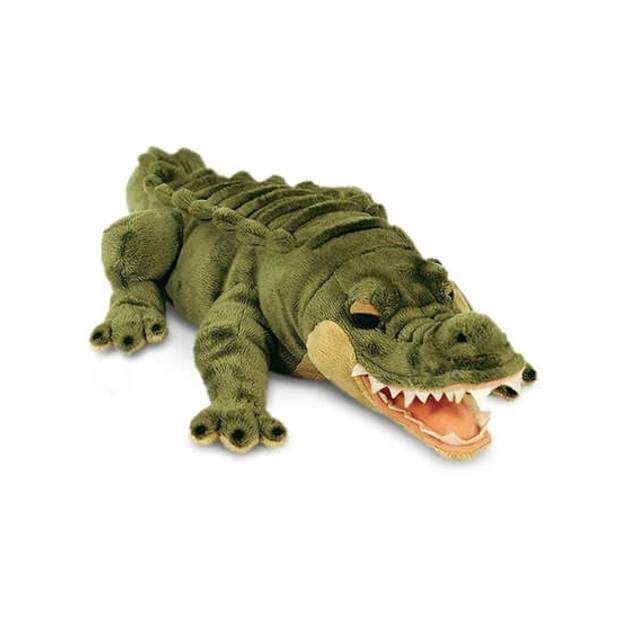 Keel Toys pluche alligator/krokodil knuffel 66 cm
