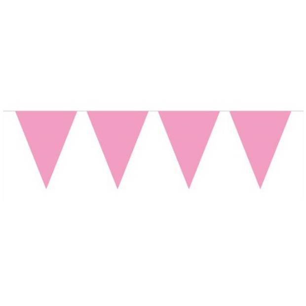 Meisje geboren vlaggenlijn babyroze 10m