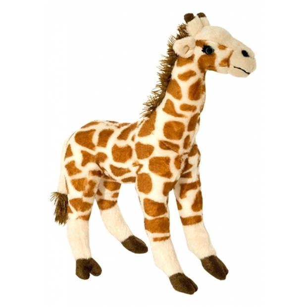 Pluche giraf knuffel 35 cm