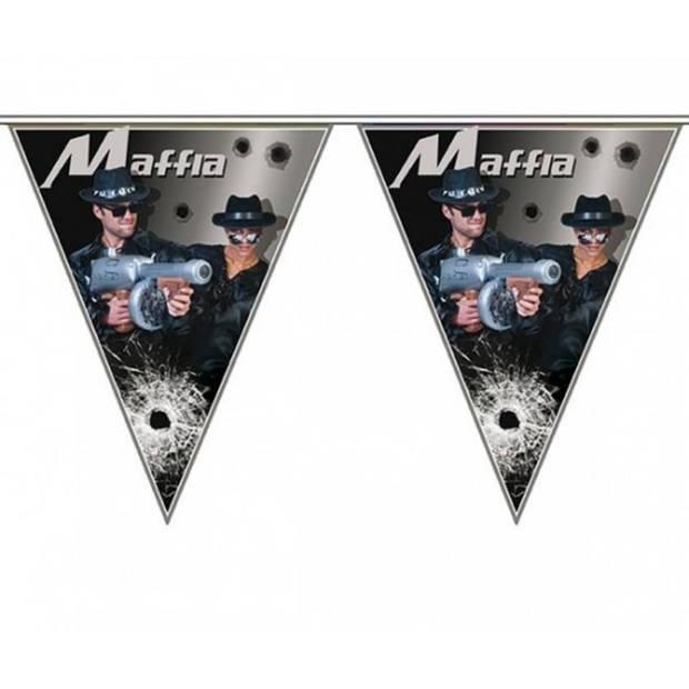 3x Maffia vlaggenlijn 5 meter