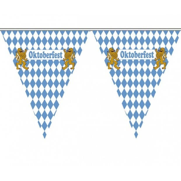 3x Vlaggenlijn Oktoberfest