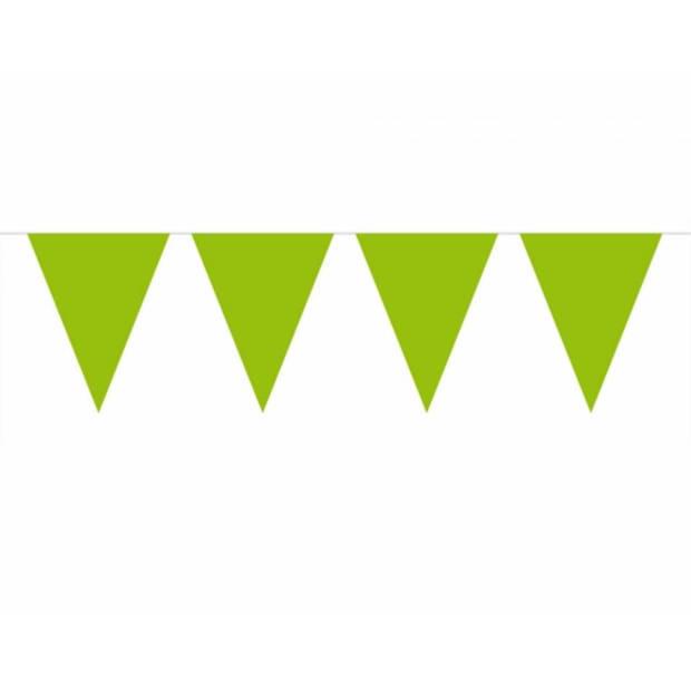 3x Vlaggenlijn groen 10 meter