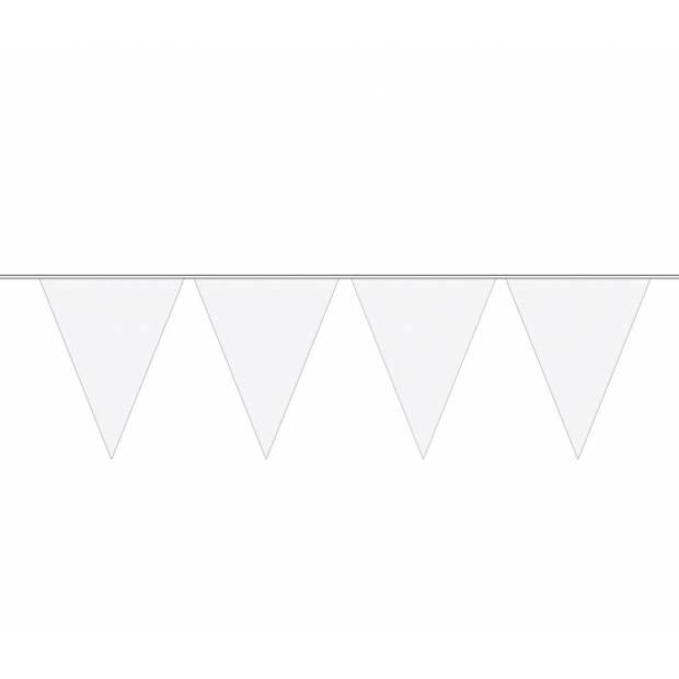 3x Vlaggenlijn wit 10 meter