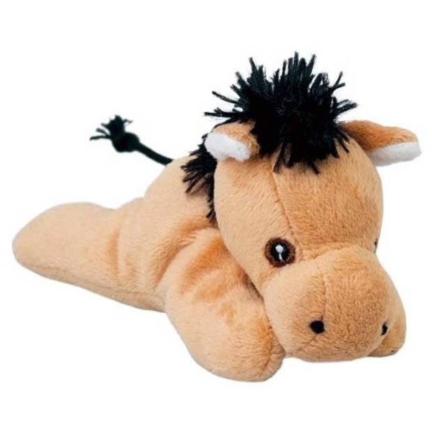 Knuffel paardje 13 cm - knuffeldier