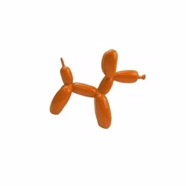 Oranje modelleer ballonnen 25 stuks