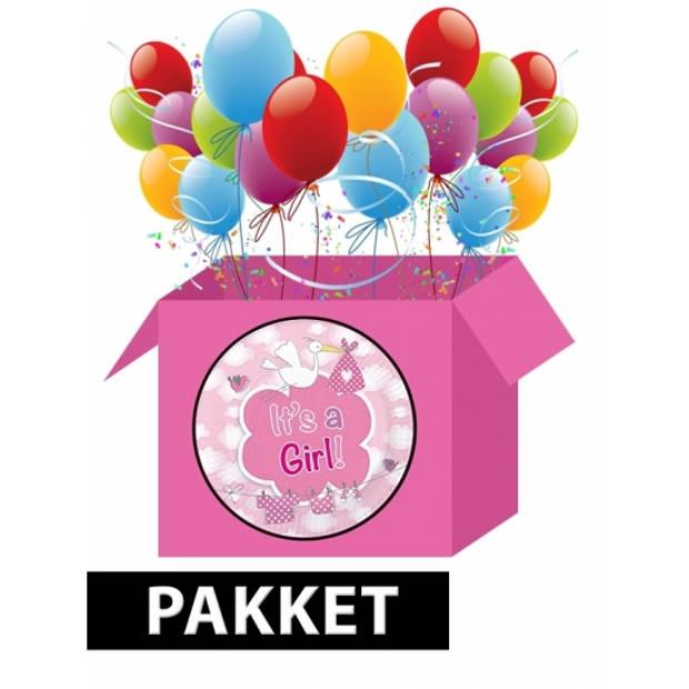 Geboorte feestpakket meisje
