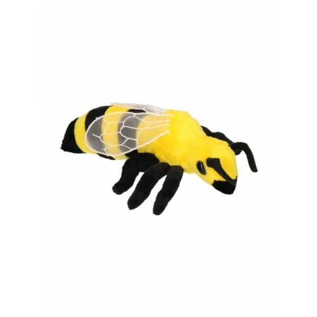 Pluche wespen knuffels van 20 cm - Insecten dieren knuffelbeesten