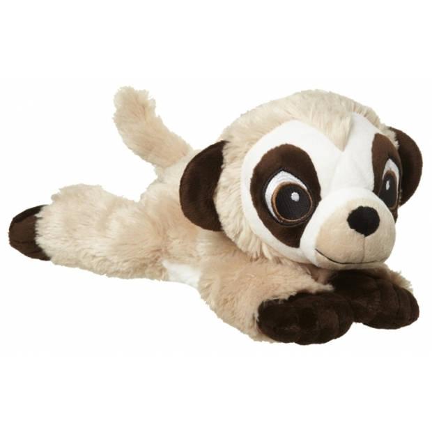 Pluche stokstaartje knuffel - 32 cm - stokstaartjes / meerkat knuffeldieren