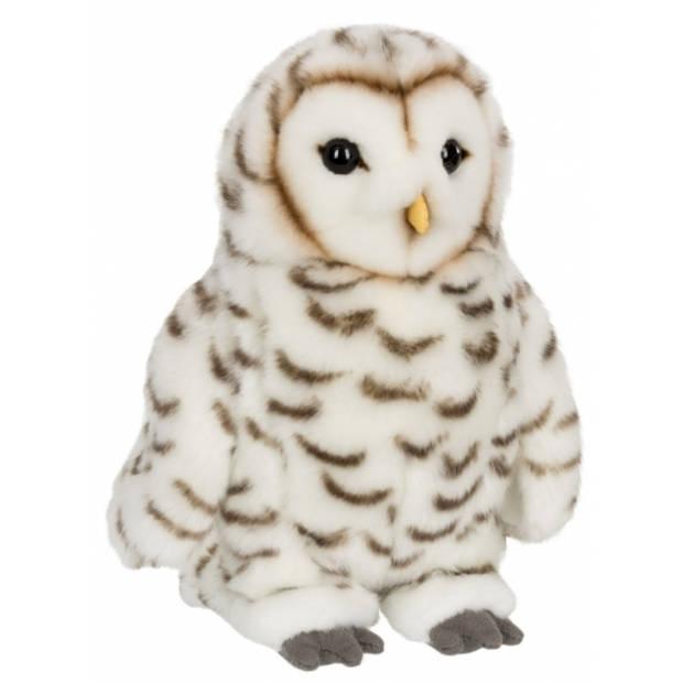 WNF pluche witte sneeuwuil knuffel 22 cm