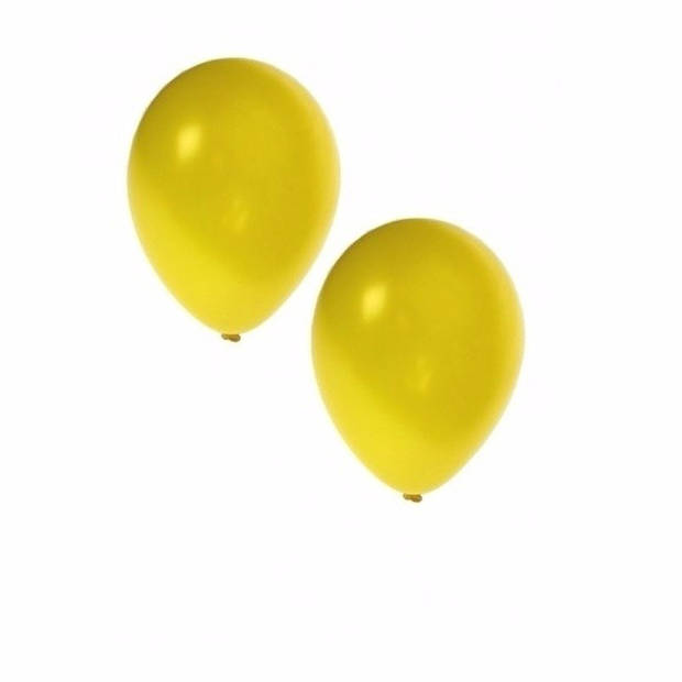 Metallic gele ballonnen 36 cm