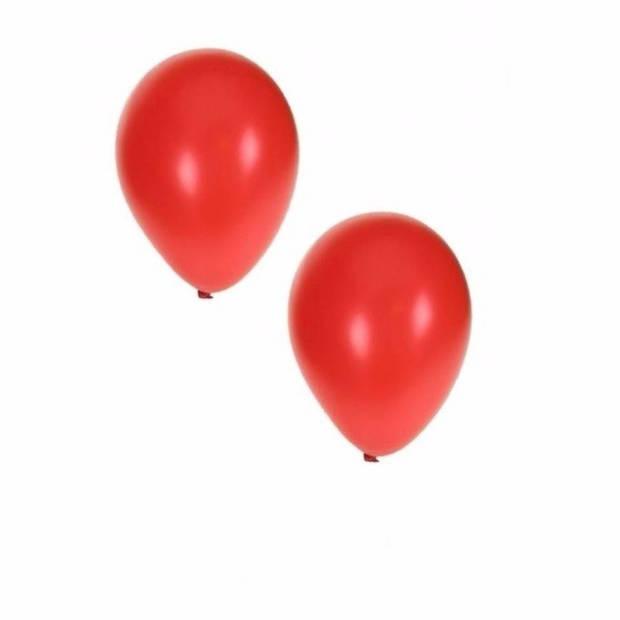 Metallic rode ballonnen 36 cm