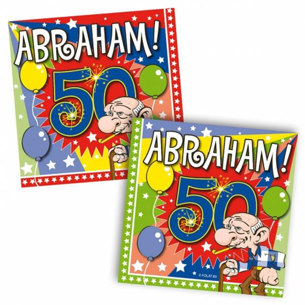 Abraham feestartikelen pakket XL