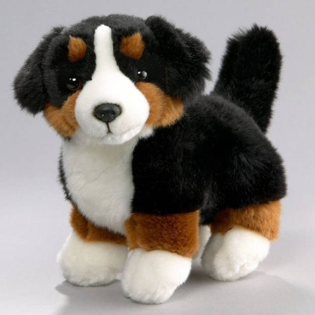 Pluche honden knuffel Berner Senner 25 cm