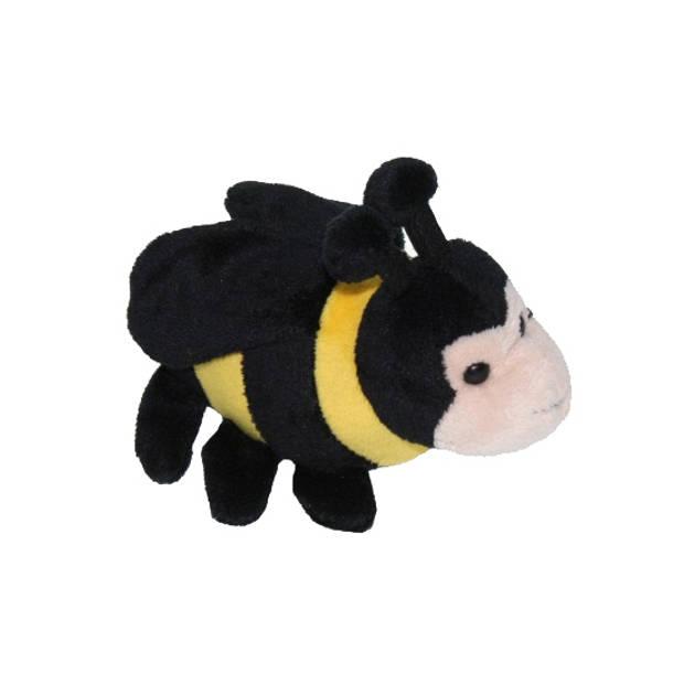 Pluche bijen knuffel 13 cm - Insecten dieren knuffels