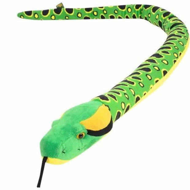 Knuffel anaconda slang 137 cm - pluche slang