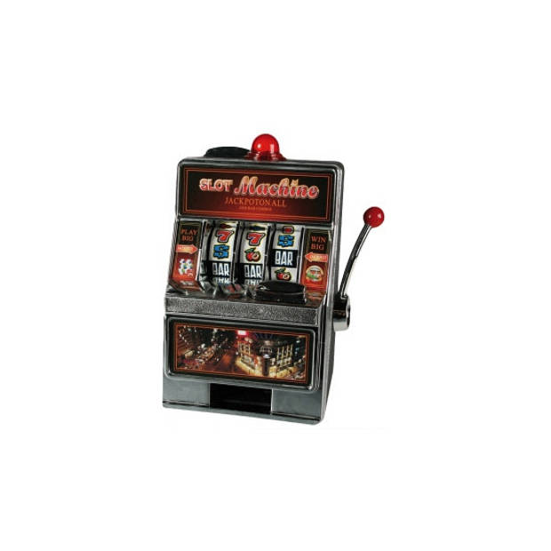 Gokkast spaarpot en speelautomaat