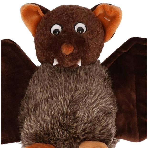 Pluche vleermuis knuffel 18 cm